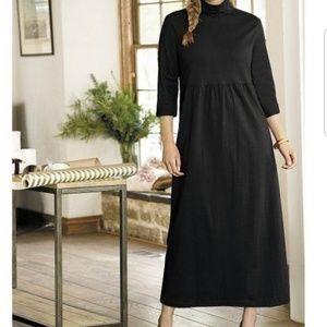 Ulla Popken Meghan Turtleneck Empire Knit Dress